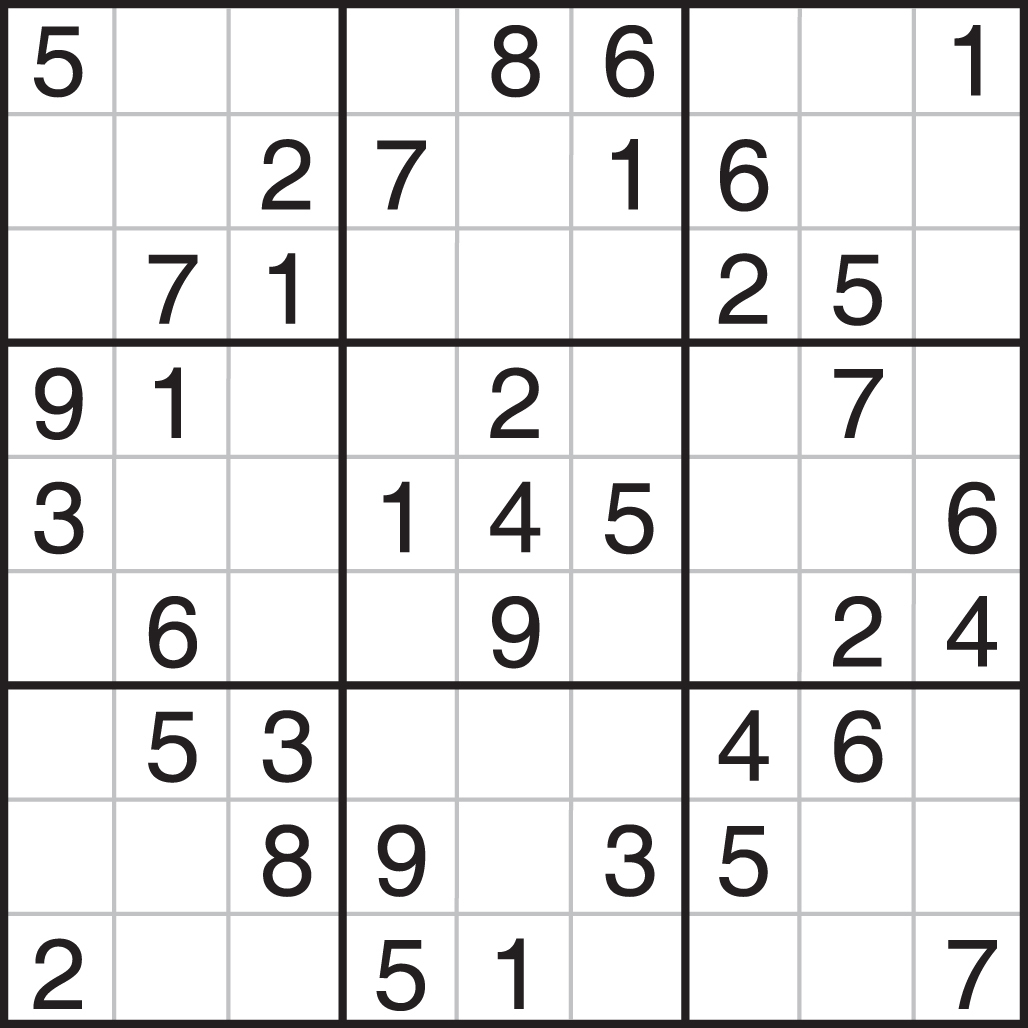 Printable Sudoku: Printable Sudoku