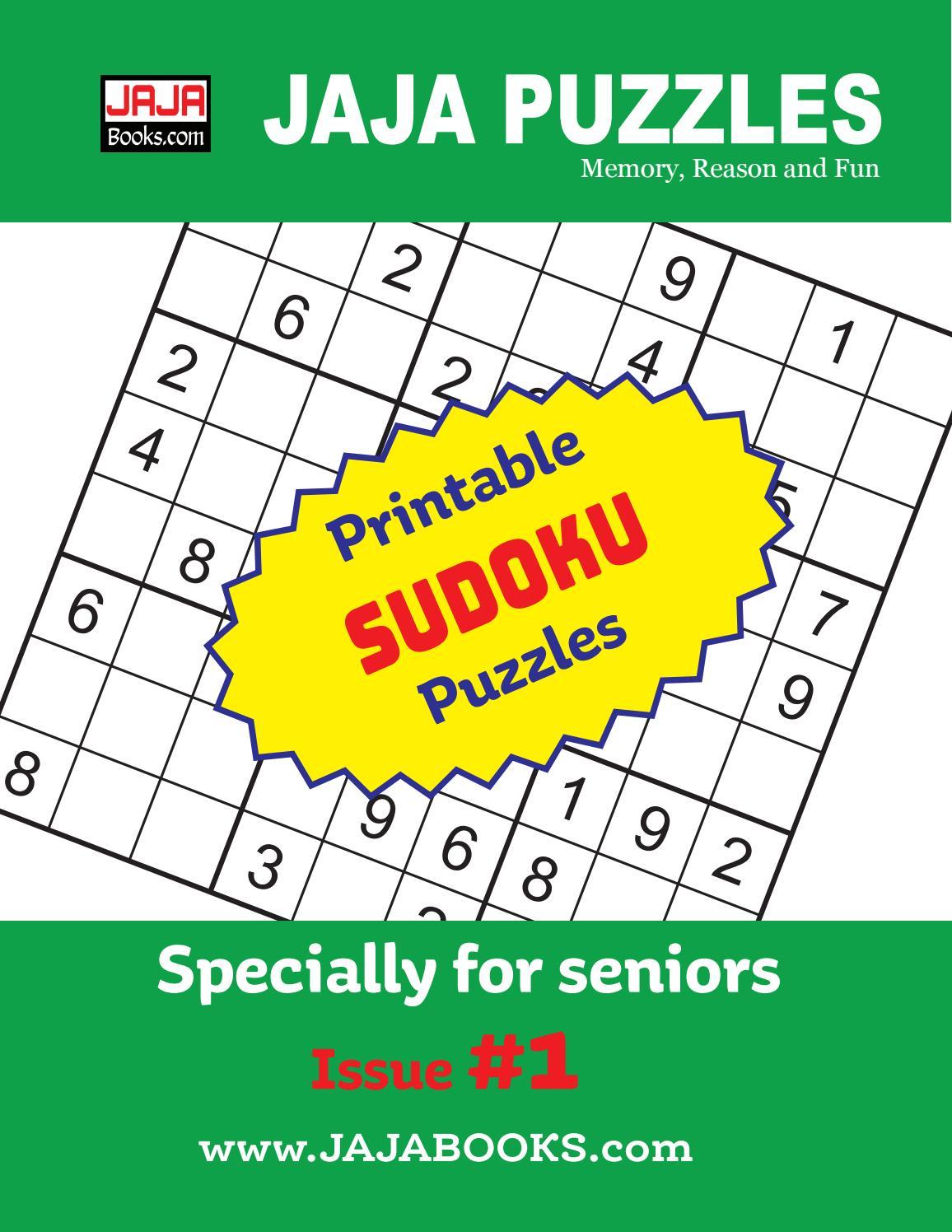 Printable Sudoku Puzzles. Issue #1Jaja Books - Issuu