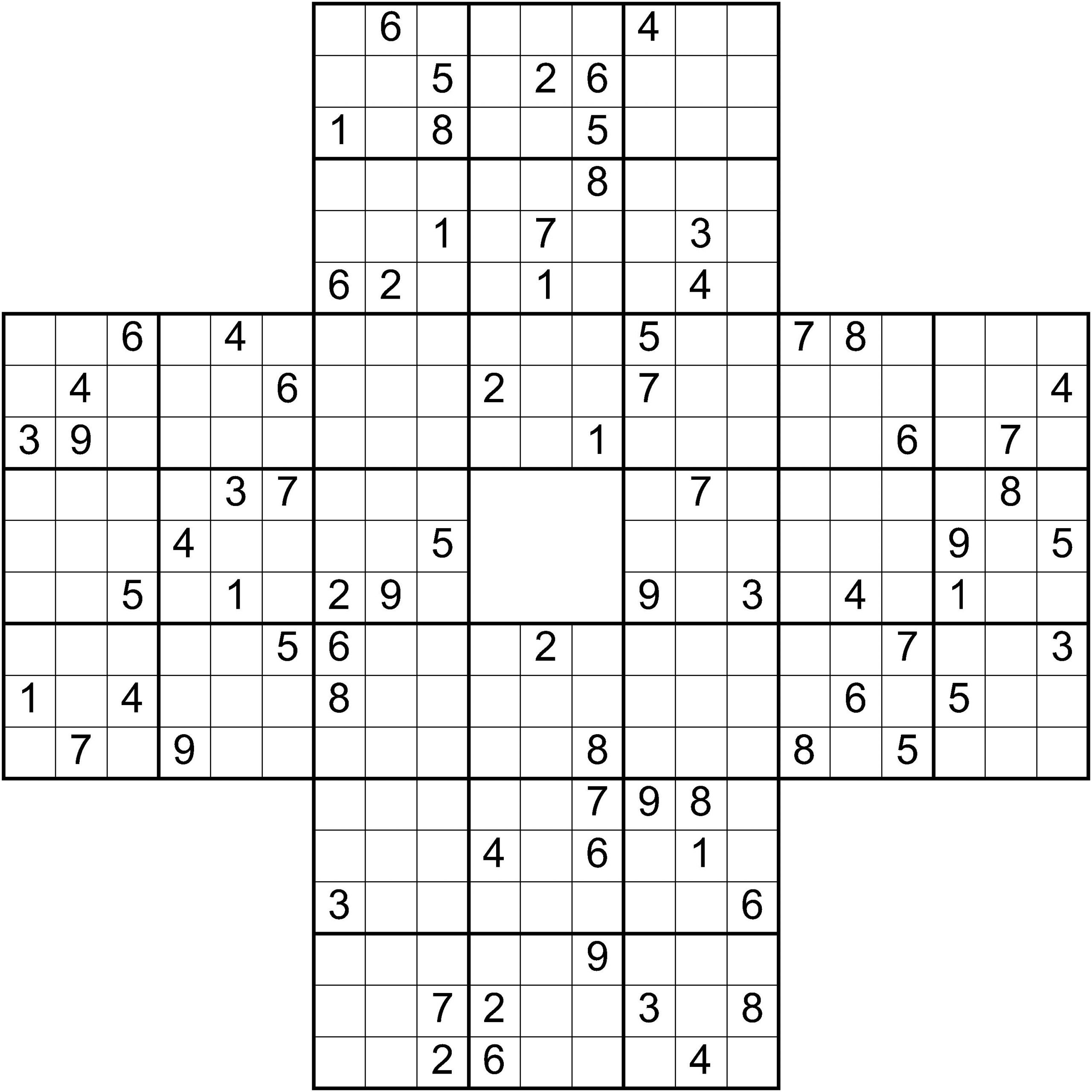 Puzzle Maker Sudoku Variations   Bookpublishertools