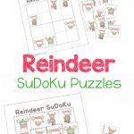 Reindeer Sudoku Puzzles   Christmas Logic Fun   Royal Baloo
