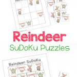 Reindeer Sudoku Puzzles   Christmas Logic Fun   Royal Baloo