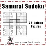 Samurai Sudoku Puzzles   25 Unique Sudoku Puzzle Collection
