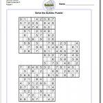 Samurai Sudoku Triples   Sudokus, Problemas Matemáticos