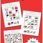School Sudoku Puzzles {Free Printables}   Wiskunde, Kinderen