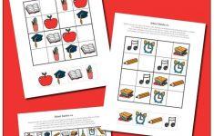 Preschool Sudoku Printable