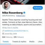 Seattle Times Reporter Mike Rosenberg Suspended After