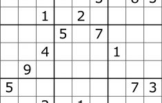 Solving Sudoku Using A Simple Search Algorithm – George Seif