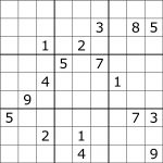 Solving Sudoku Using A Simple Search Algorithm   George Seif