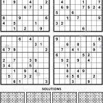 Sudoku Black And White Stock Photos & Images   Alamy
