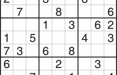 Sudoku Blank Worksheet | Printable Worksheets And Activities