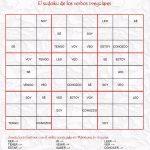 Sudoku De Verbos Irregulares (Pero Leer No Es Verbo