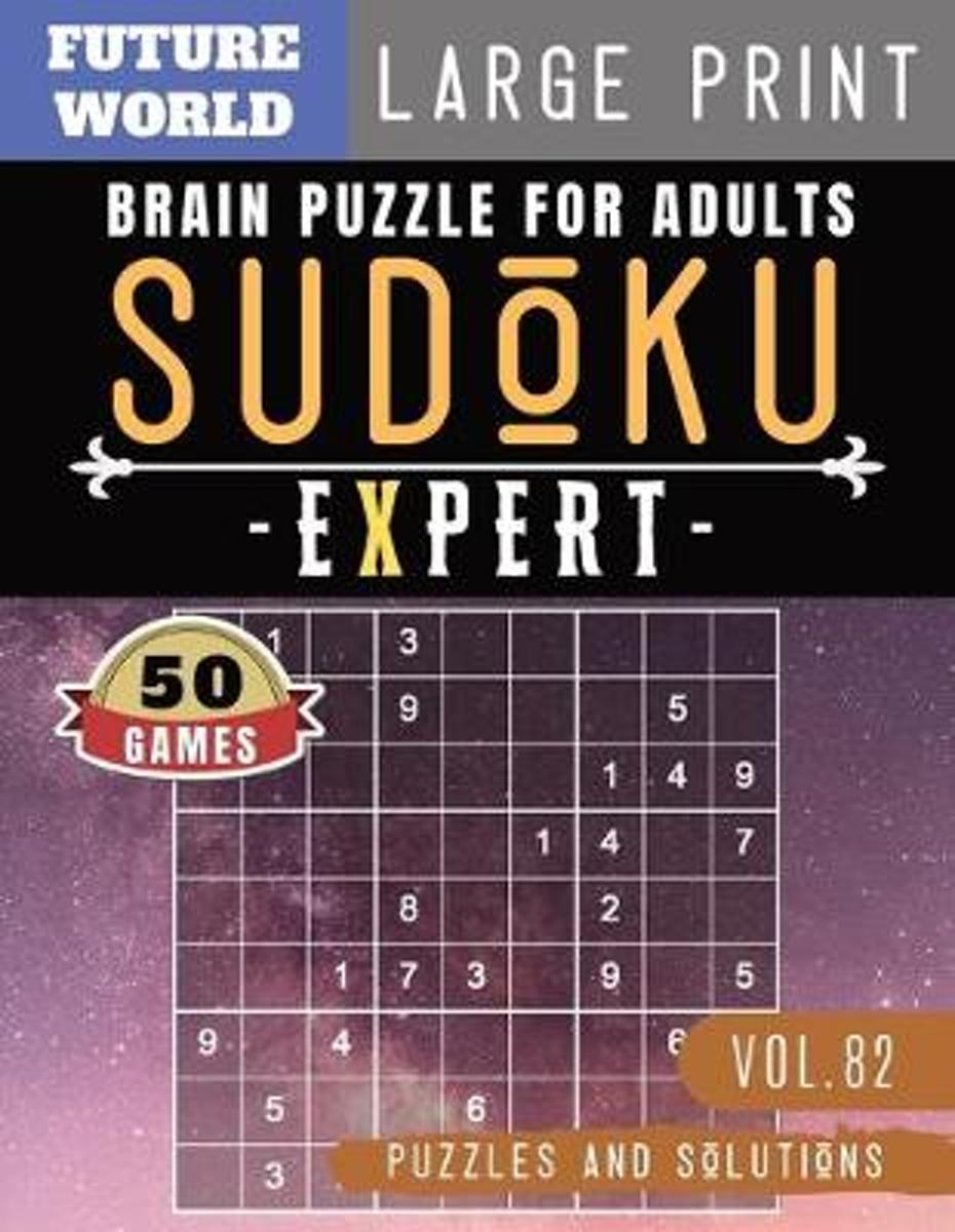 Sudoku Expert: Brain Games For Adults - Sudoku Extreme Hard Game Sudoku  Puzzles For Memory For Brain Sharper And Sudoku Solver