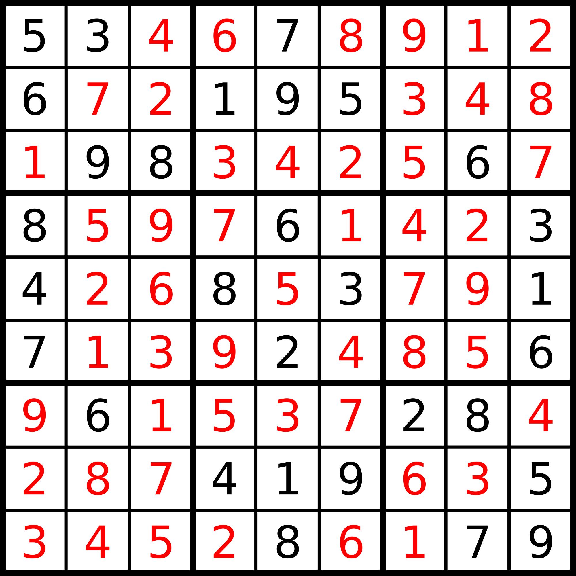 Sudoku - Gene Krumenacker's Portfolio Site
