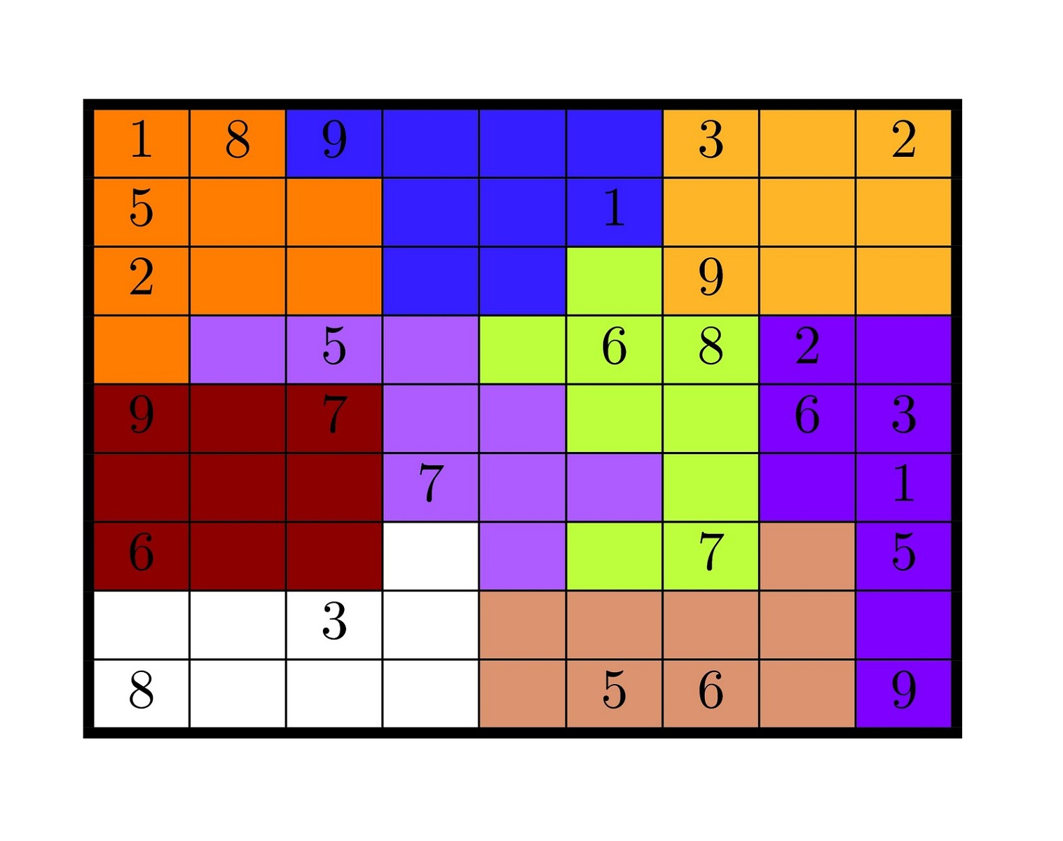 Sudoku High Fives Colorful – Printable Shelter
