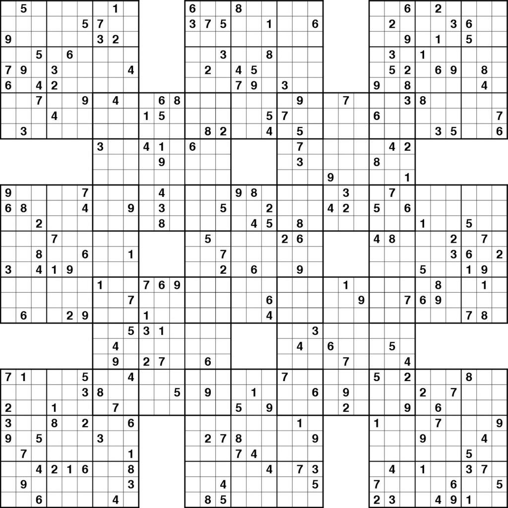 Sudoku High Fives Printable | Kiddo Shelter | Sudoku Puzzles
