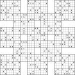 Sudoku High Fives Printable | Sudoku Printable, Sudoku
