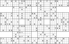 Sudoku X Printable