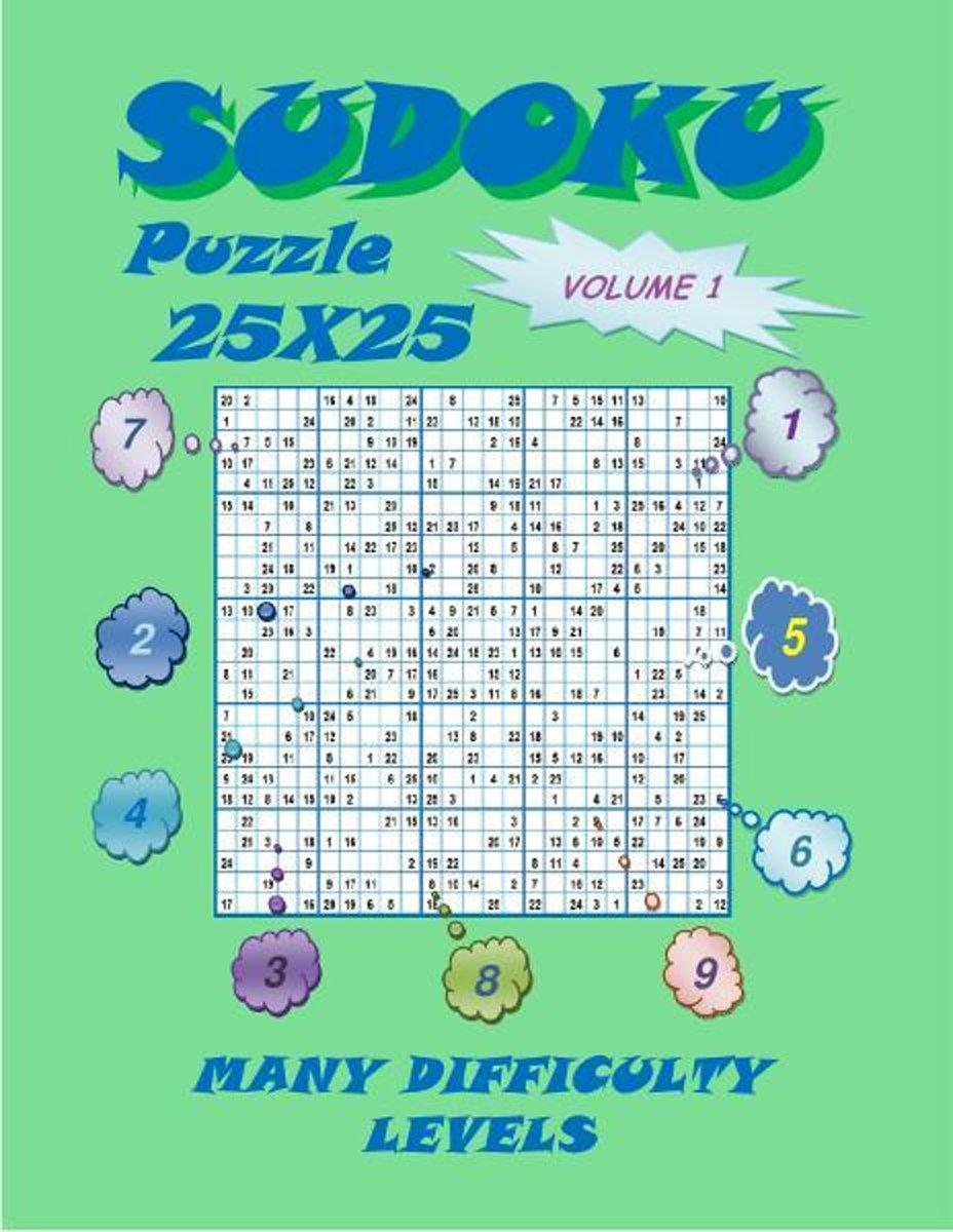 Sudoku Puzzle 25X25, Volume 1