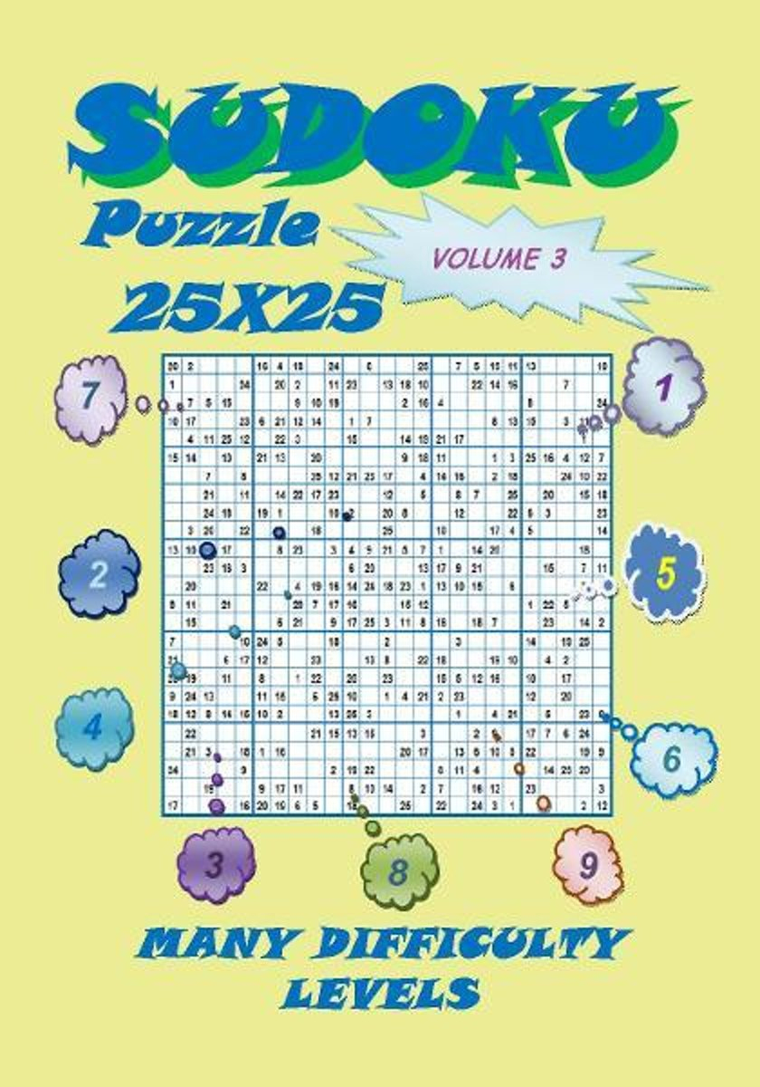 Sudoku Puzzle 25X25, Volume 3