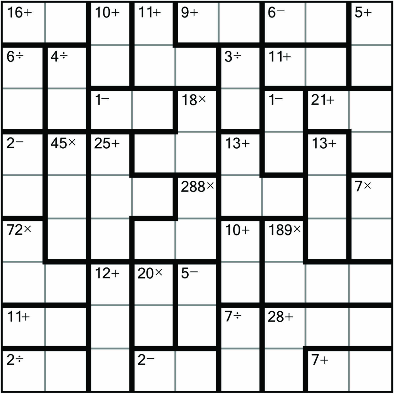 Sudoku, #puzzles, #cendoku, #calcudoku, #kendoku