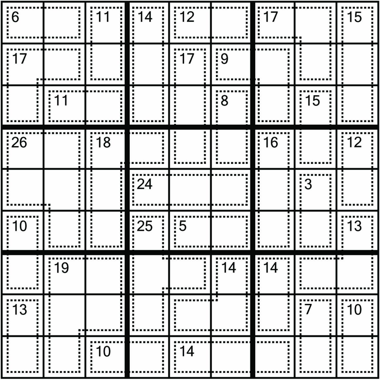Sudoku, #puzzles, #killerpuzzle, Sumokusudoku