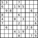 Sudoku   Simple English Wikipedia, The Free Encyclopedia
