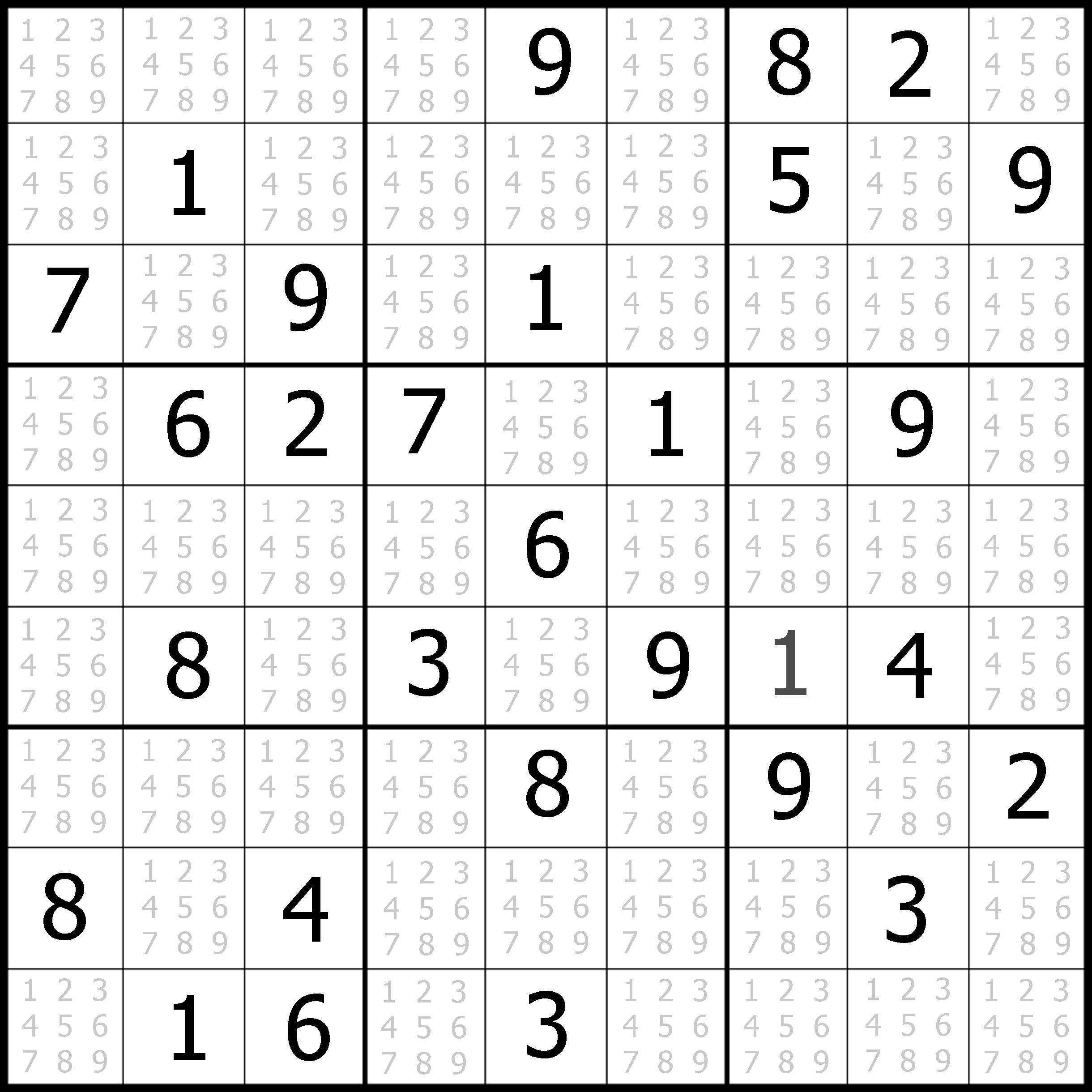 Sudoku | Sudoku Puzzler