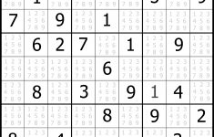 Printable Sudoku Puzzles Medium 3