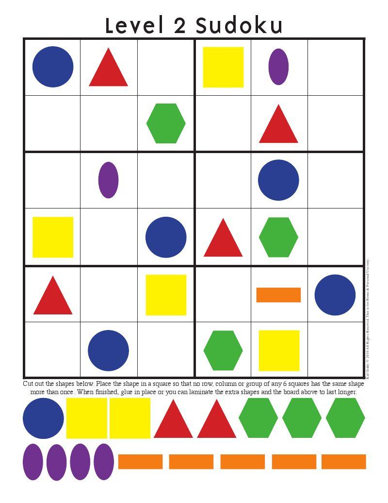 Sudoku | Vormen Leren, Wiskunde Activiteiten, Klaslokaalbeheer