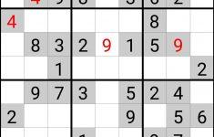 Printable Sudoku Chicago Tribune