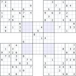 Sudokusolver Forum • View Topic   Ruud's Specialty Puzzles