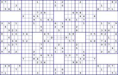 Jigsaw Sudoku Printable Free