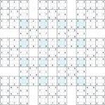 "Supersamurai"" Gattai 13 : Sudoku Variants"