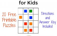 The Activity Mom – Free Printable Color Sudoku Puzzles For