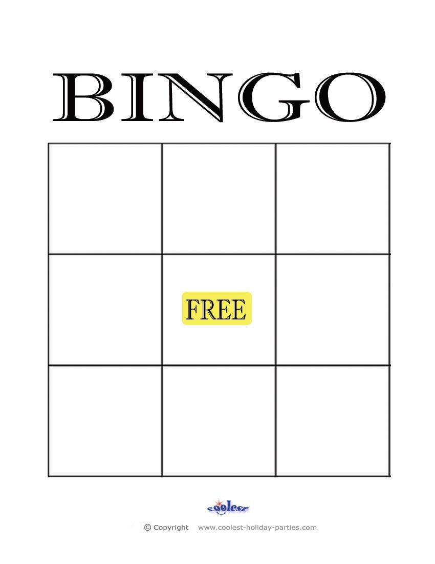 The Appealing 004 Blank Bingo Card Template Stirring Ideas