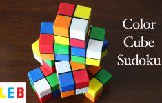 Cube Sudoku Printable