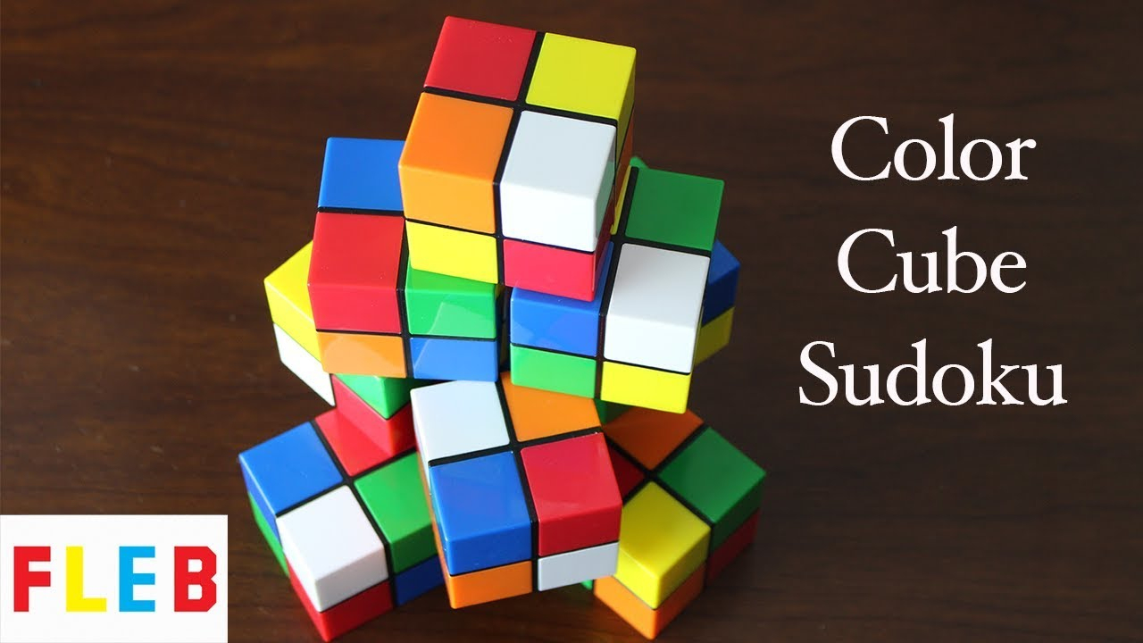 The Color Cube Sudoku Puzzle