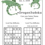 """The Puzzle Pencil On Twitter: """"tamed Any #dragons Yet In The"""