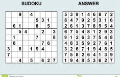 Sudoku 6×6 Printable With Answers