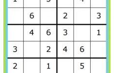 Week 7: Learning Math With Sudoku – Wiskunde, Breinbrekers