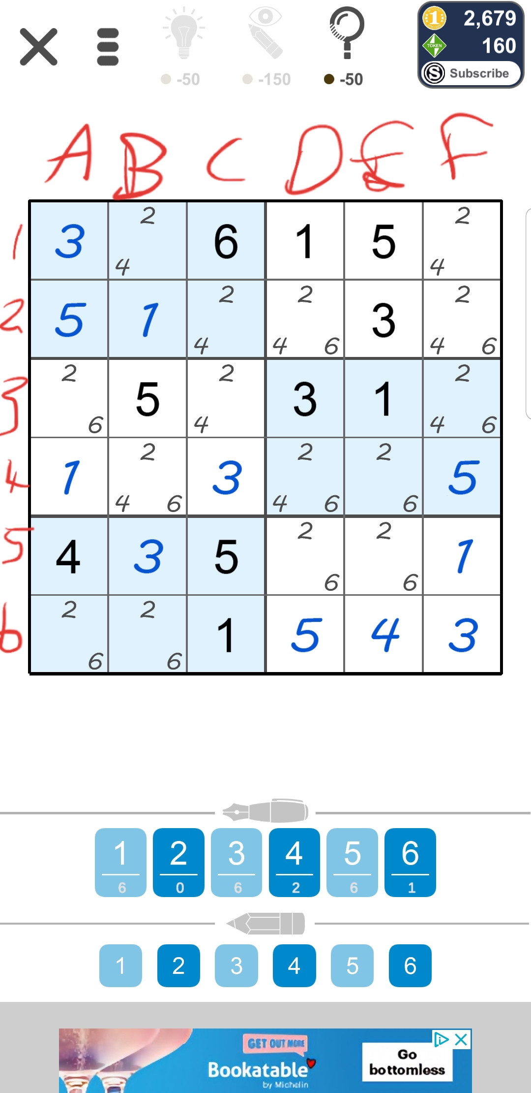 What Is The Best Way To Solve This 6X6 Sudoku? - Puzzling